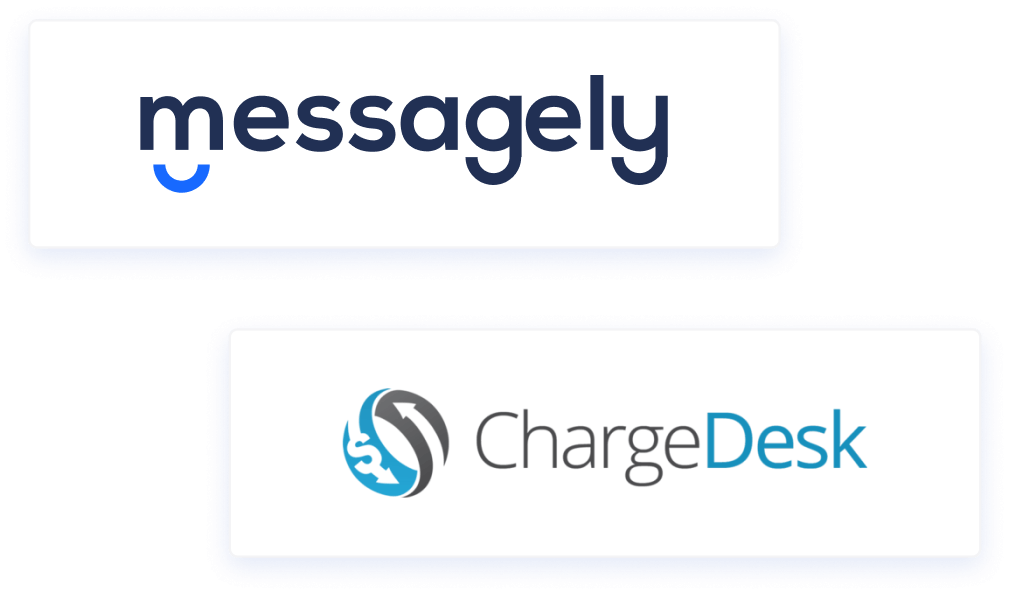 messagely chargedesk integration