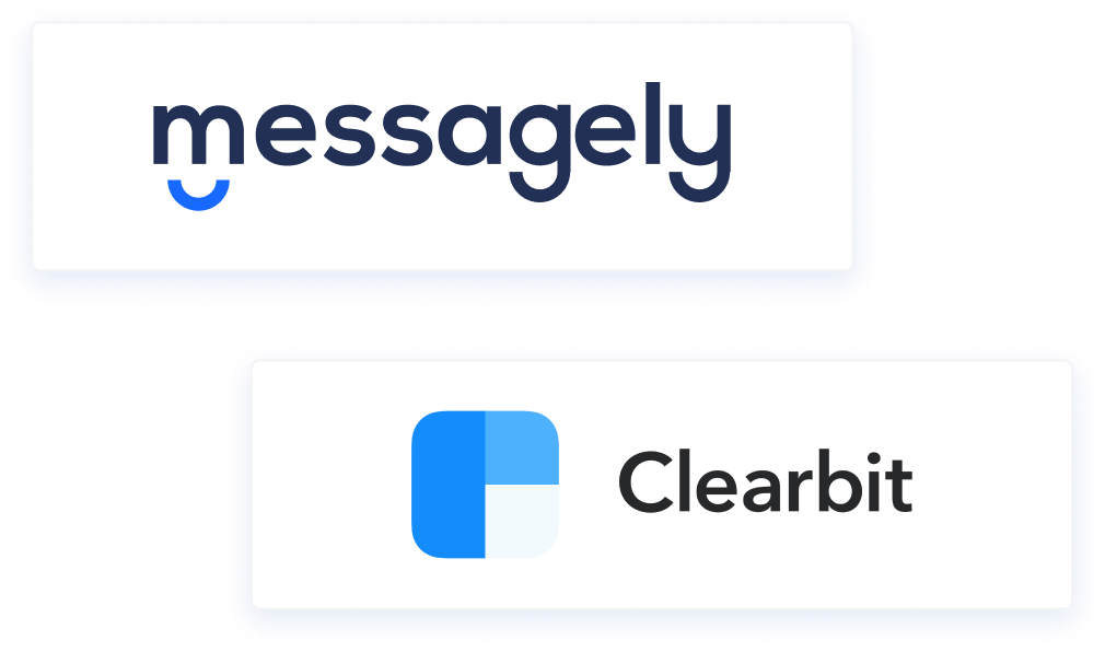 messagely clearbit integration