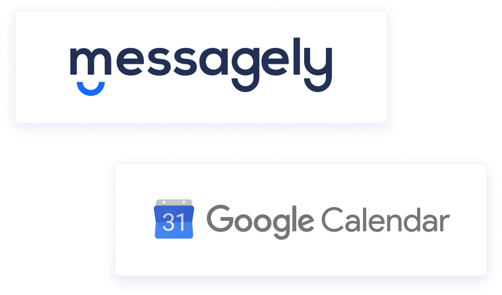messagely google calendar integration