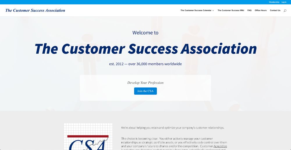 Customer Success Association