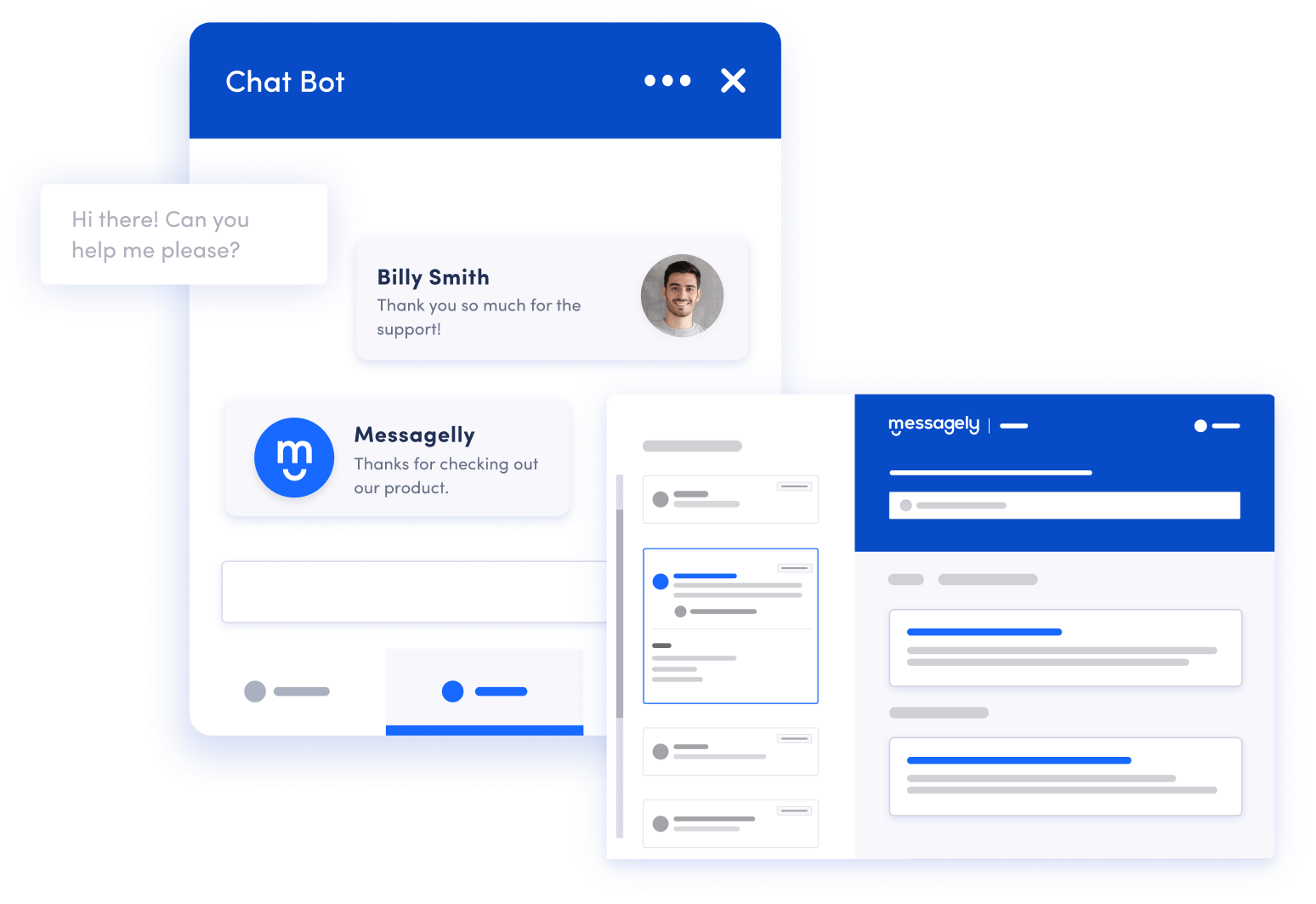 messagely chat bot