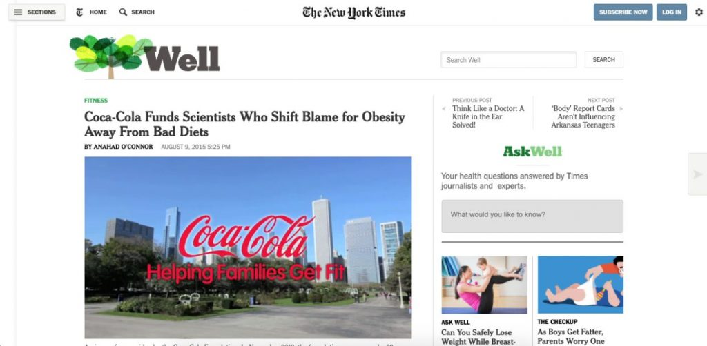 New-York-Times-article-that-started-Coca-Cola-crisis.