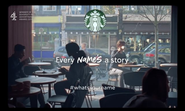 "Through the ""every name's a story"" campaign, Starbucks successfully talked about sensitive issues that its clients care about."