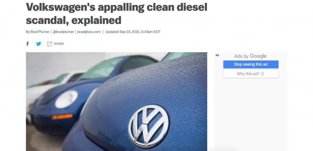 Article-detailing-the-Volkswagen-2015-scandal