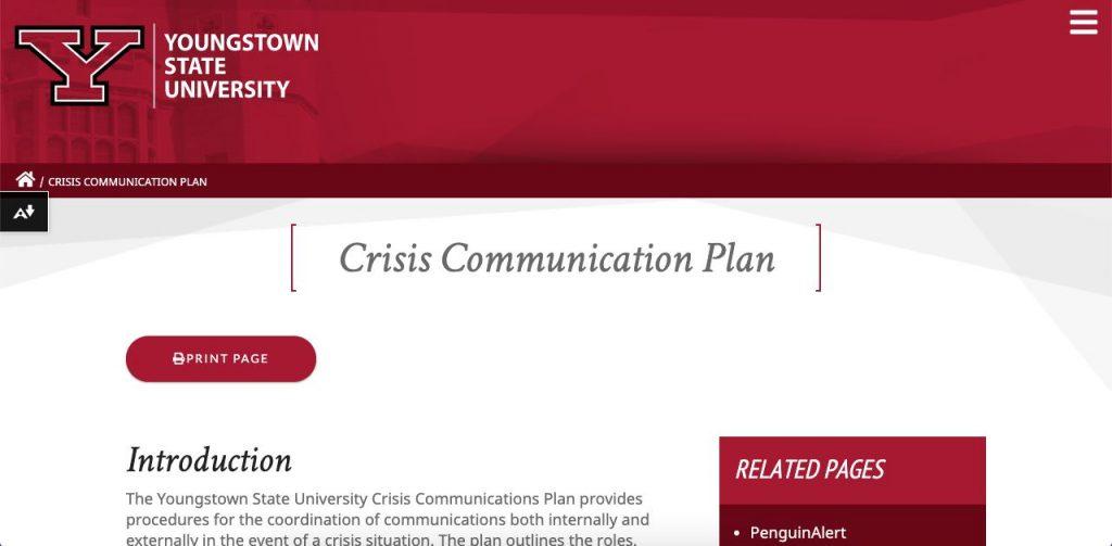 Screenshot-of-the-Youngstown-State-University-Crisis-Response-plan