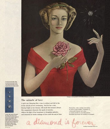A Diamond is Forever Campaign by N. W. Ayer & Son in 1938