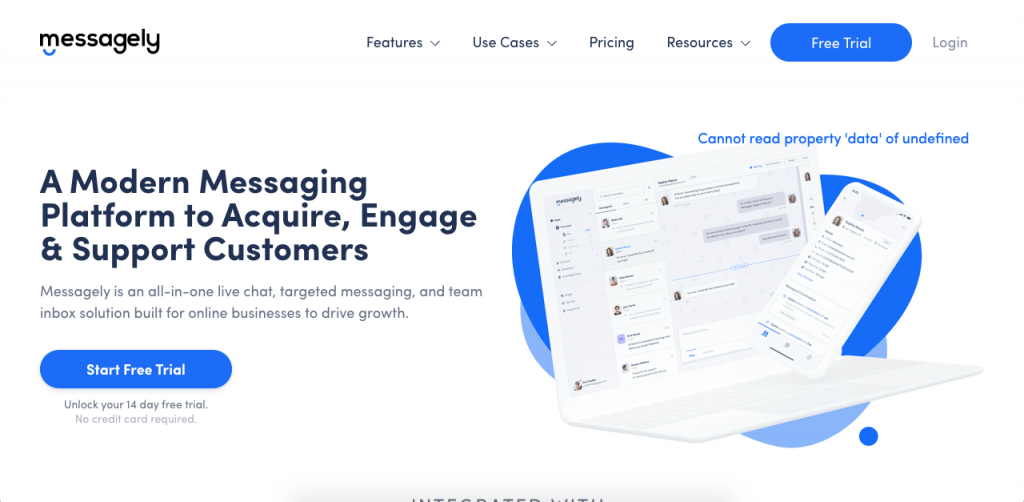 Messagely is an all-in-one customer service tool to take your service to the next level.