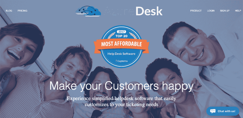 AzureDesk has a knowledge base platform made with your customer in mind. Its knowledge base integrates with the rest of its customer service tools to provide your clients with an integral service.