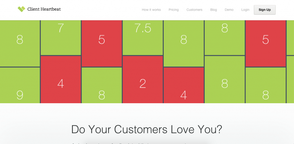 Client Heartbeat makes it easy to measure customer satisfaction over time through surveys.