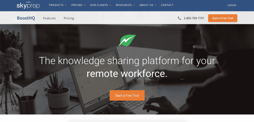 BoostHQ is a great option to create, improve, and centralize internal knowledge bases.