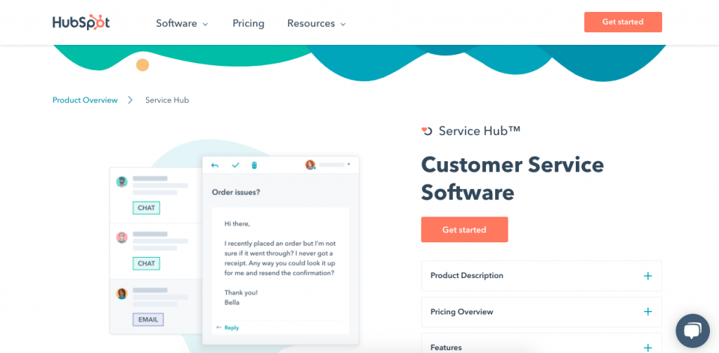 Hubspot has a very competitive help desk that's as easy to use as it is powerful.