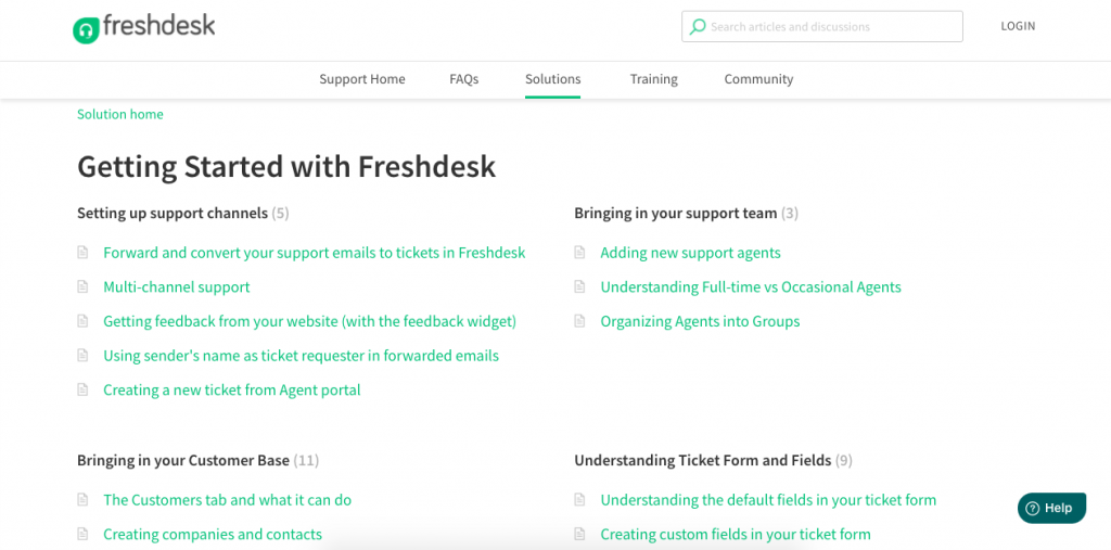 Both Zendesk and Freshdesk are giant platforms, so it comes as no surprise that the setup process is fairly straightforward