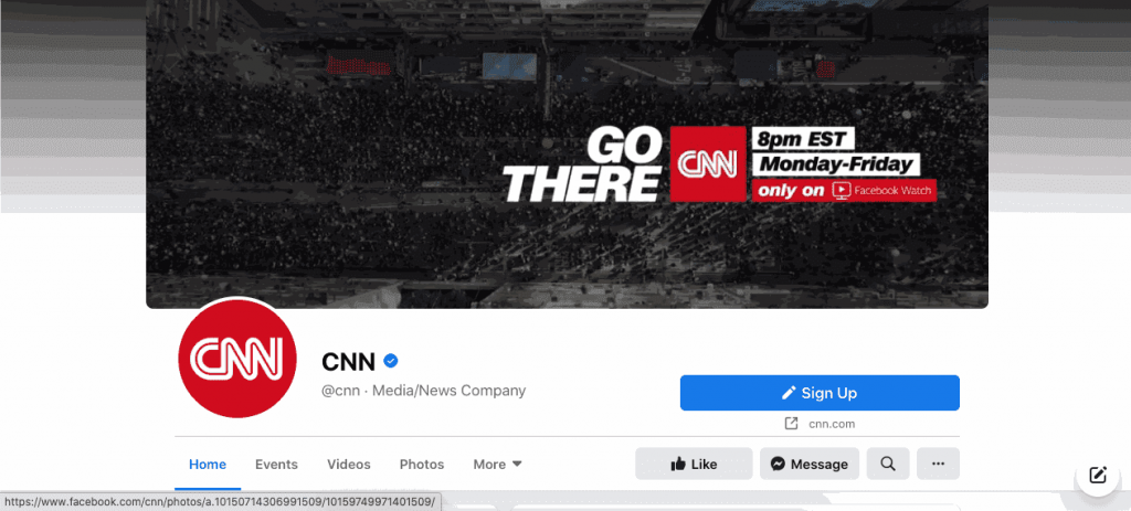 CNN is a massive corporation that is constantly breaking new stories.