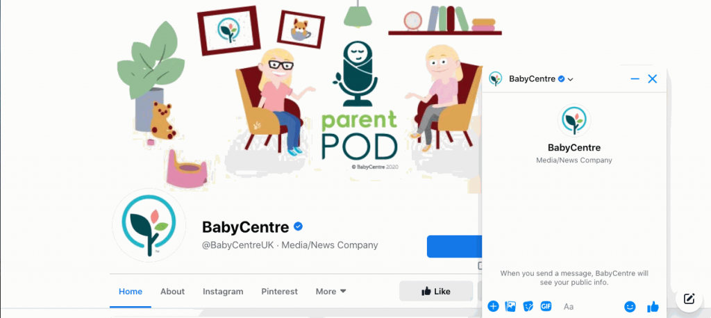 BabyCentre UK is a British pregnancy and childcare resource.