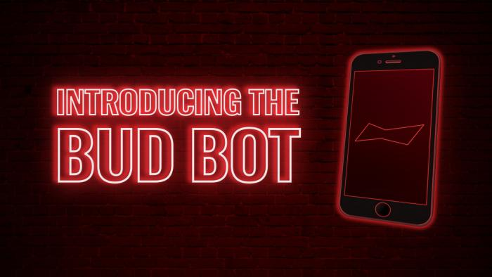 Budweiser launched the Bud Bot. Its purpose is to remind users to stock up their fridges with drinks on game days
