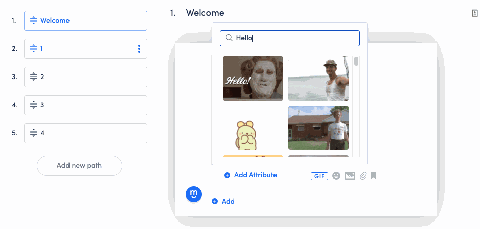 The right visuals will definitely help your chatbot connect with your user in a human-like way, leading to a better overall user experience.