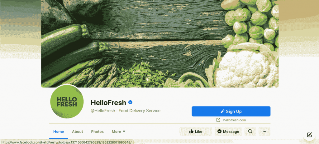 HelloFresh is a meal kit company that sends ingredients along with recipes for users to prepare food in the comfort of their home.