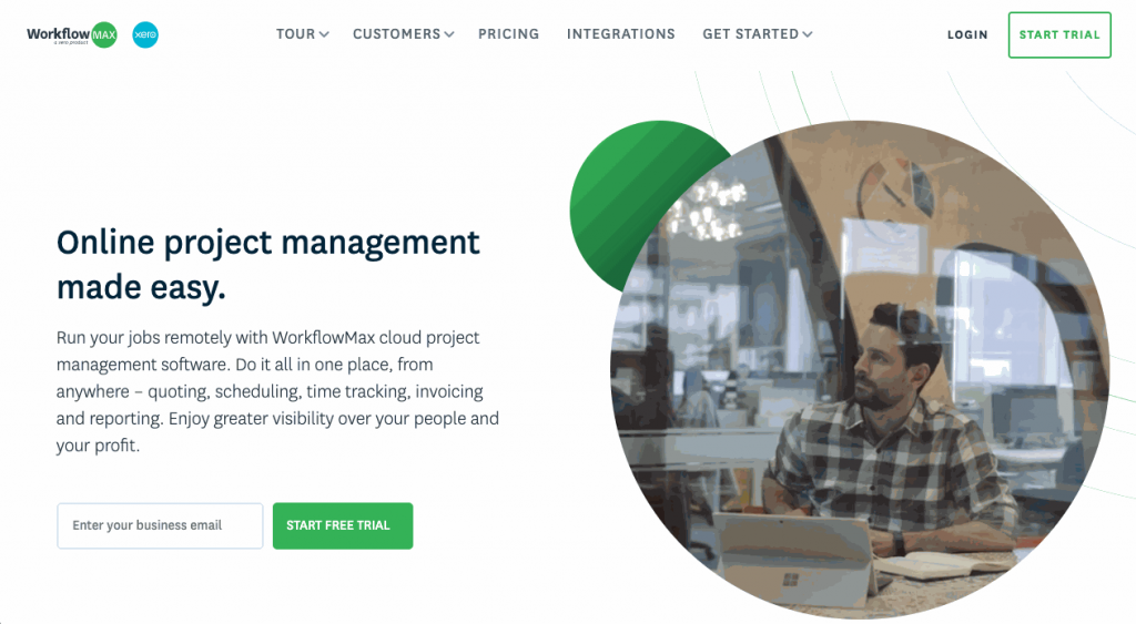 WorkflowMAX is a large and comprehensive project management tool