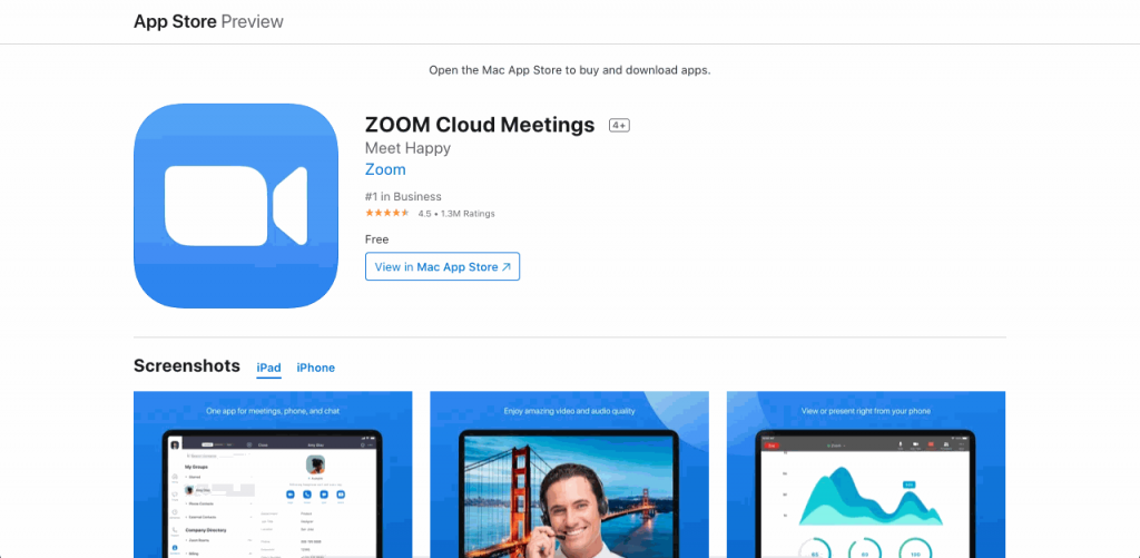 Zoom's powerful platform allows users to communicate through video calls with clear video and audio